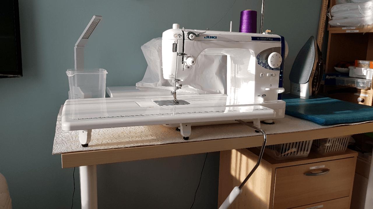 New machine update
