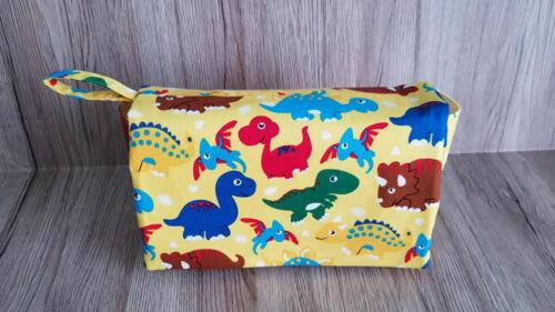 Dinosaur nappy bag